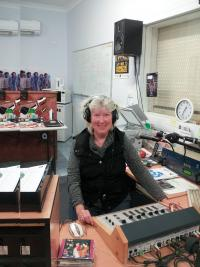 Wilcannia River Radio announcer Julie