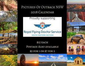 Pictures of the Outback Calendar 2018