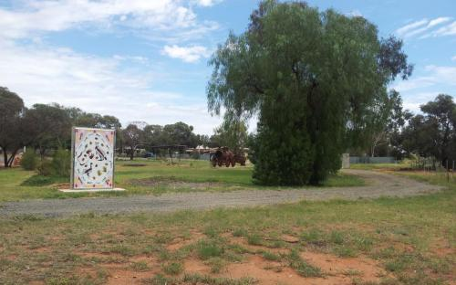 Reconciliation Park, opposite Wilcannia Hospital